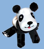 Panda Bear Marshmallow Craft from www.daniellesplace.com