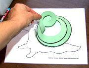 snail craft from www.daniellesplace.com