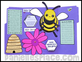 Bee Lap Book from www.daniellesplace.com