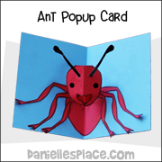 Ant Popup Card