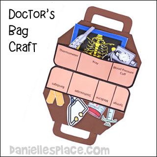 Doctor and nurse crafts and learning activities for children for Doctor crafts for toddlers