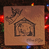 Christmas Paper Bag Ornament Craft