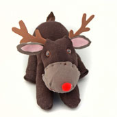 sock reindeer Christmas Craft for kids