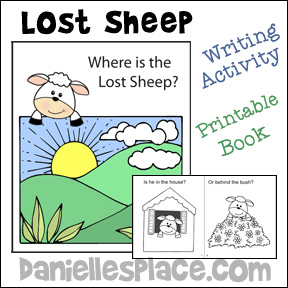 Where Is The Lost Sheep Printable Coloring Book