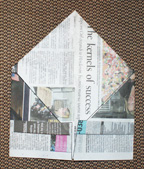 newspaper hat diagram 7