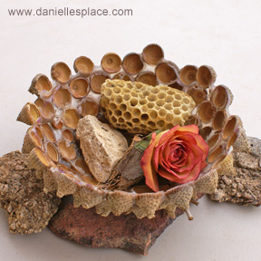 This acorn cap bowl is so precious - I can't wait to make it with all of the acorns lying around in my yard!