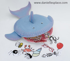 Jonah and the whale bible lesson review game www.daniellesplace.com