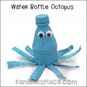 Water Bottle Octopus Craft