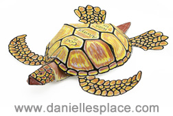 sea turtle craft www.daniellesplace.com