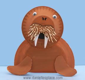 Arctic Animal Crafts For Kids