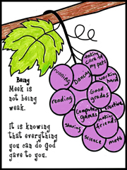 Fruit of the Spirit Activity Sheet from www.daniellesplace.com