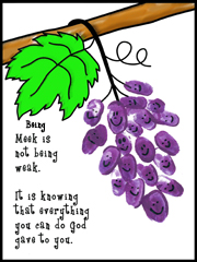 Fruit of the Spirt Grape thumbprint activity sheet sunday school craft from www.daniellesplace.com