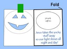pumpkin poem craft - Religious Halloween Crafts