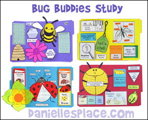 Bug Buddies Study Christian Home School Lessons