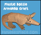 Armadillo Craft for Kids