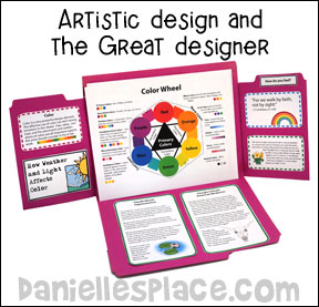 Artistic Design and the Great Designer - Christian Art Lesson About Color for Homeschool
