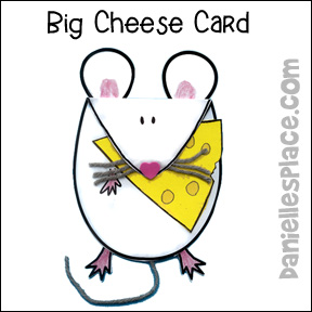 Father's Day Craft - Big Cheese - from www.daniellesplace.com