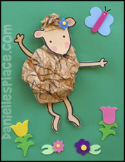 Dancing Hedgehog Craft for Kids
