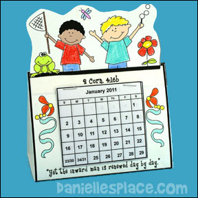 renewed day by day calendar craft