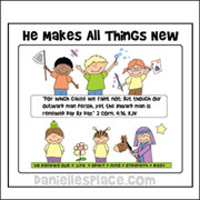 He Makes All Things New Coloring Activity Sheet from www.daniellesplace.com