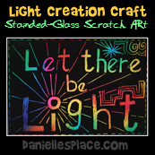 Let there be light Creation Craft from www.daniellesplacee.com