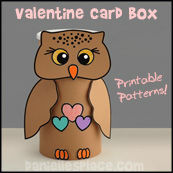 Owl Box Craft for Kids