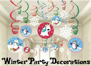 Winter Party Decorations