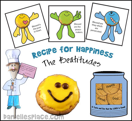Beatitudes Crafts And Sunday School Lesson For Children