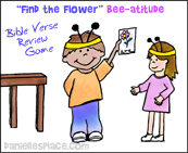 """Find the Flower"" Beatitudes Sunday School Lesson from www.daniellesplace.com"