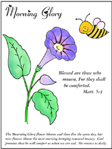 Beatitudes Coloring Sheet and Poster from www.daniellesplace.com