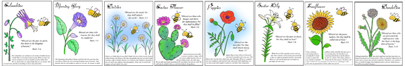 Beatitudes Sunday Scoll Lessons and Coloring Sheets from www.daniellesplace.com