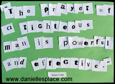 Bible Verse Lettering Activity and Game from www.daniellesplace.com