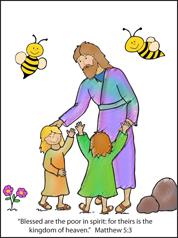 Beatitudes Sunday School Lessons for Children