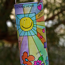 easter wind sock craft for kids www.daniellesplace.com