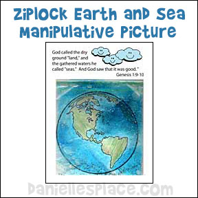 3D Sea and Land Picture Ziplock Craft from www.daniellesplace.com