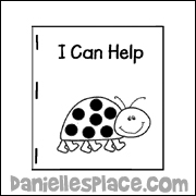 I Can Help Ladybug Printable Book
