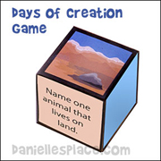 Creation Die Bible Lesson Review