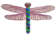 Dragonfly Craft from www.daniellesplace.com
