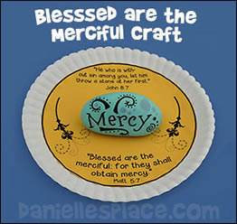 Blessed are the Merciful Paper 
