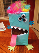 Monster Valentine Box Craft 14 from www.daniellesplace.com