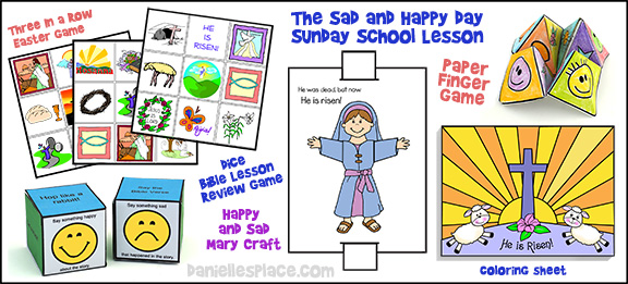 "Easter Bible Lesson ""The Sad and Happy Day"" for Children"