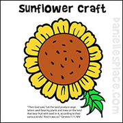 Sunflower Picture Craft