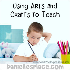 Arts and crafts promote self-education. - www.daniellesplace.com