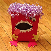 Monster Valentine Box Craft 13 from www.daniellesplace.com