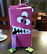 Monster Valentine Box Craft 10 from www.daniellesplace.com