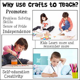 Learn how using arts and crafts  can promote success in every aspect of your child's life.