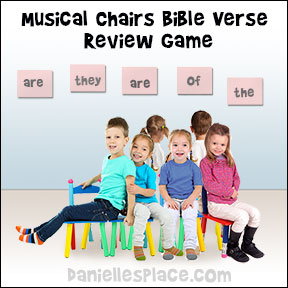 Musical Chairs Bible Verse Review Game from www.daniellesplace.com