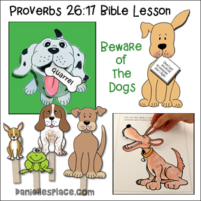 Free Sunday School Lesson - Watchdogs from www.daniellesplace.com