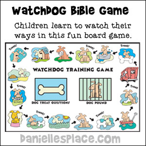 Watchdog Bible Review Game for Sunday School and Children's Ministry
