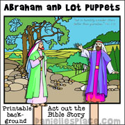 Abram and Lot Bible Crafts